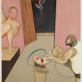 Francis Bacon-Oedipus And The Sphinx, After Ingres (Sabatier 18)-1984