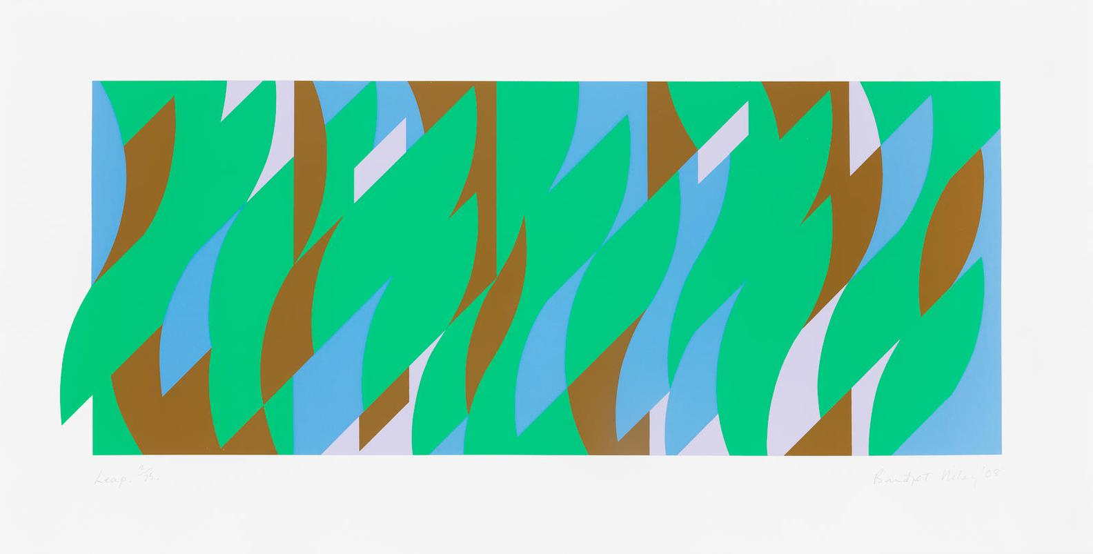 Bridget Riley-Leap (Schubert 68)-2008