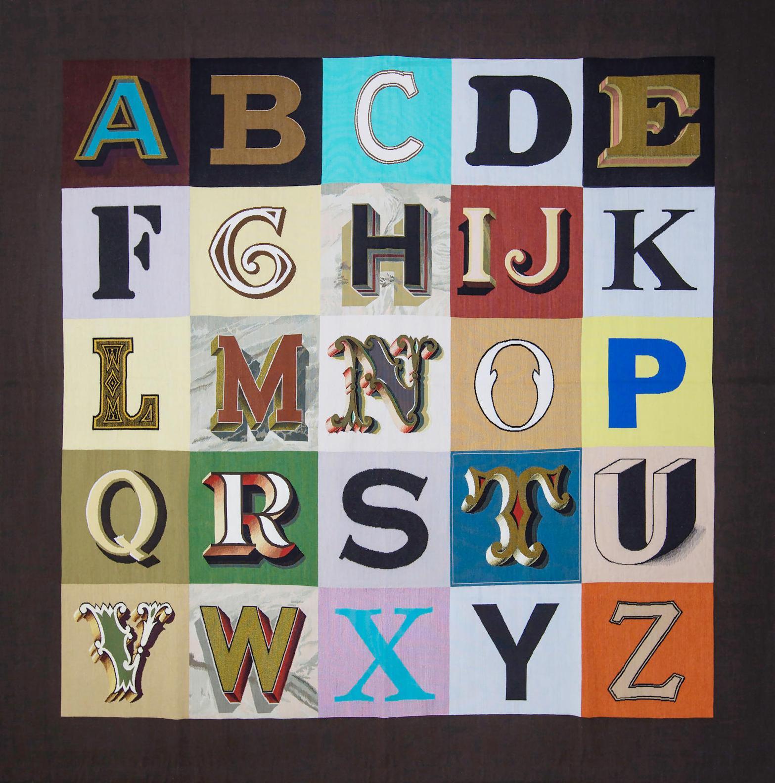Sir Peter Blake - Alphabet-2008