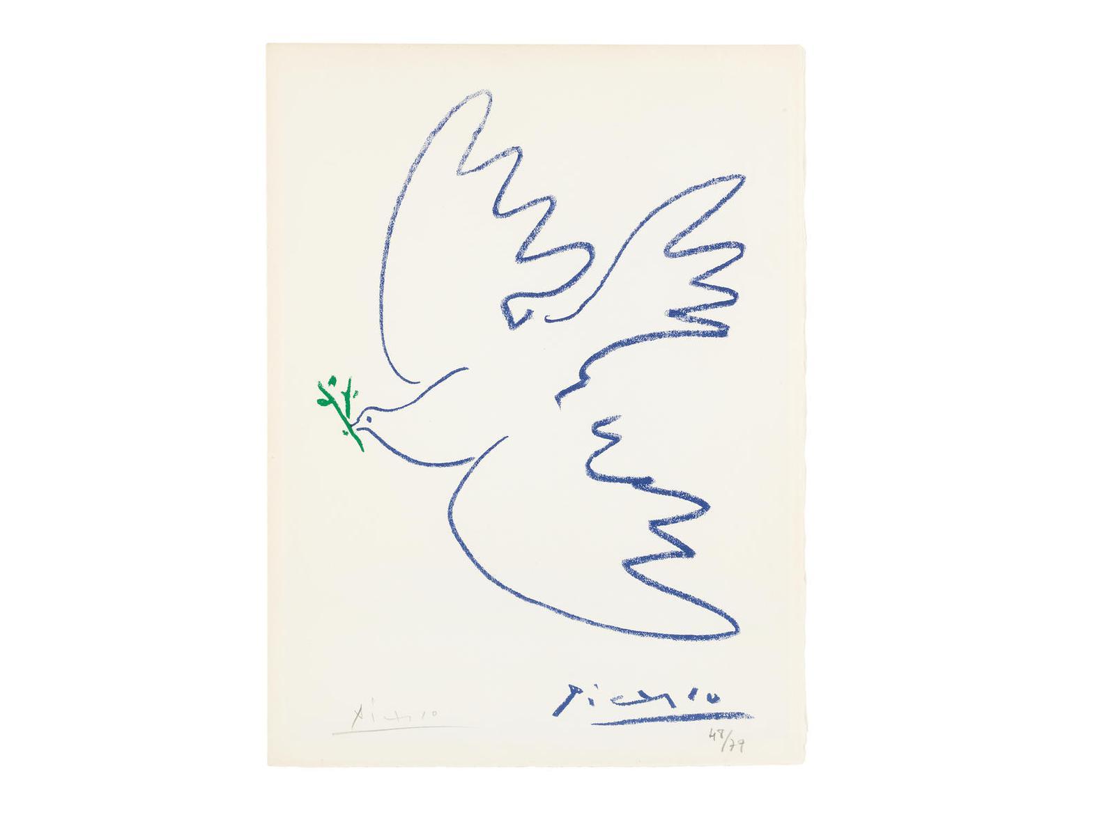Pablo Picasso-After Pablo Picasso - La Colombe De La Paix-1963