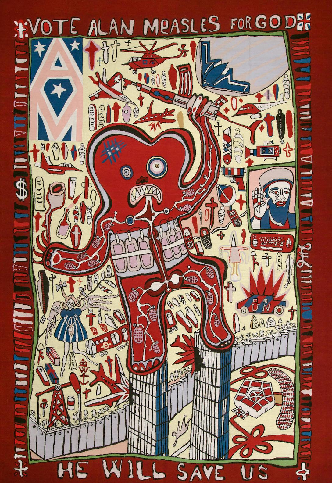 Grayson Perry-Vote Alan Measles For God-2008
