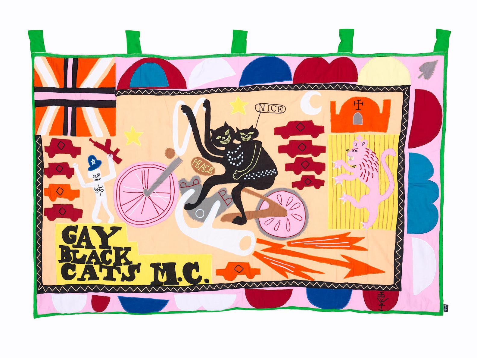 Grayson Perry-Gay Black Cats M.C.-2017