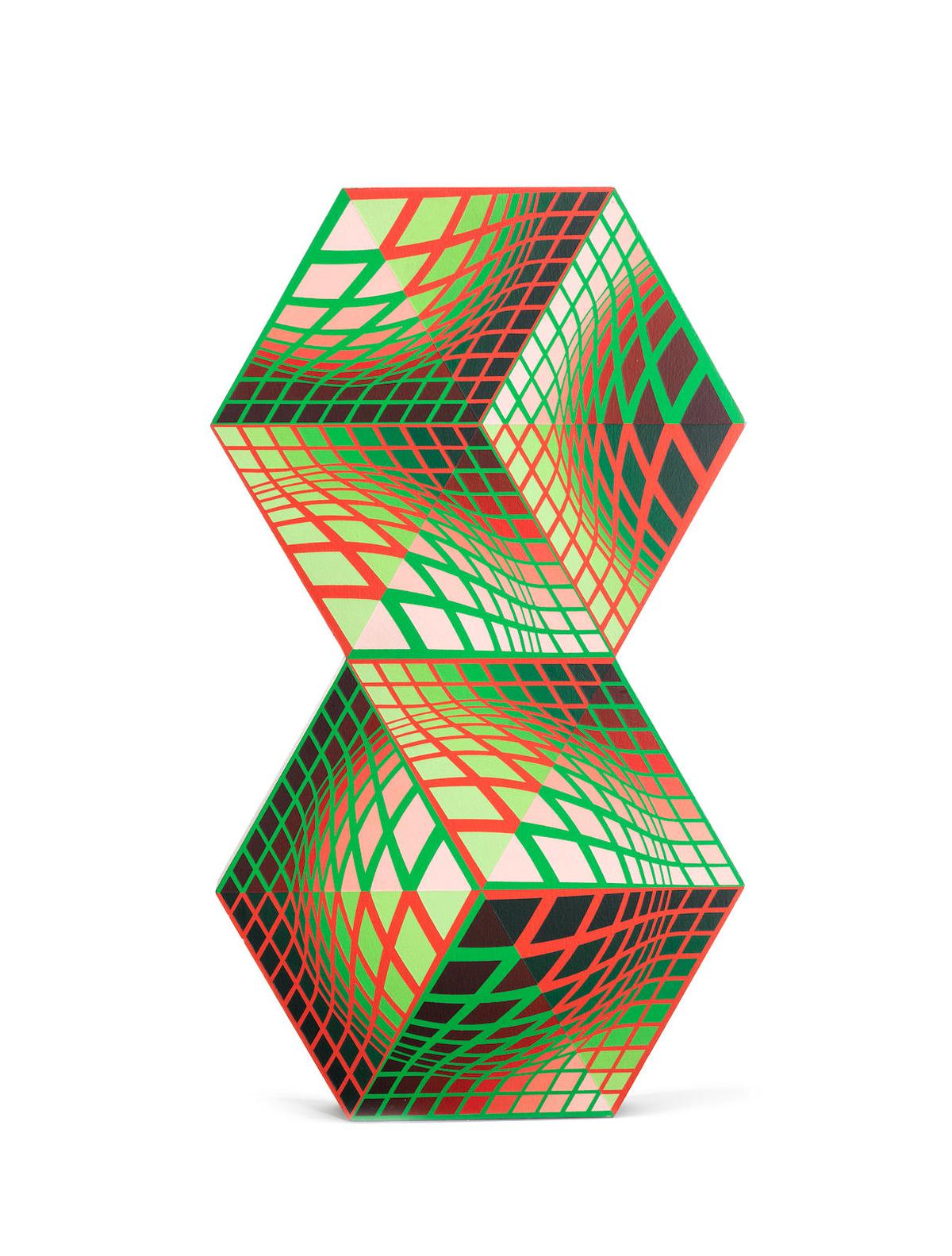 Victor Vasarely-Kettes-1988