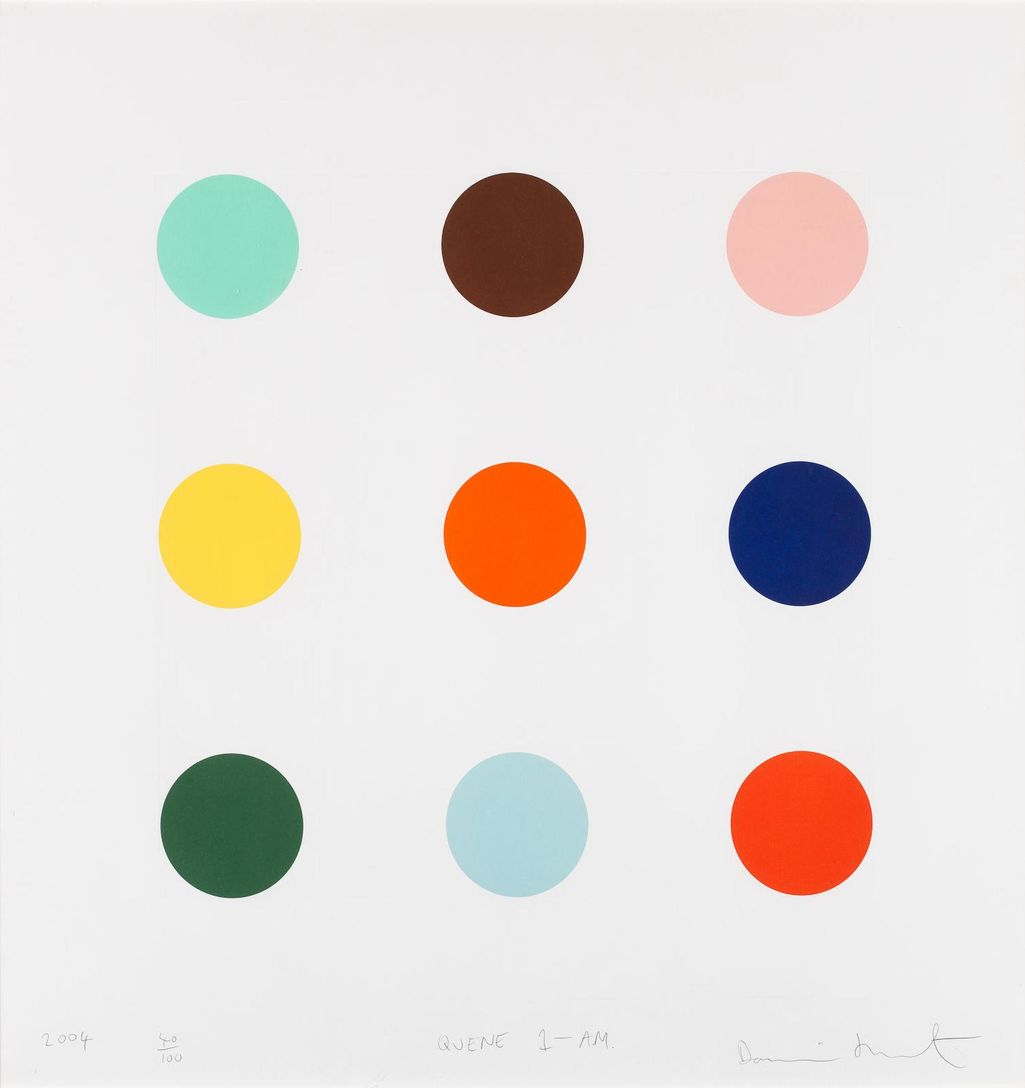 Damien Hirst-Quene 1-Am-2004