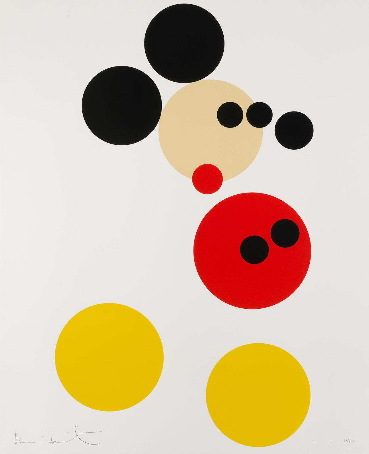 Damien Hirst-Mickey (Small)-2014