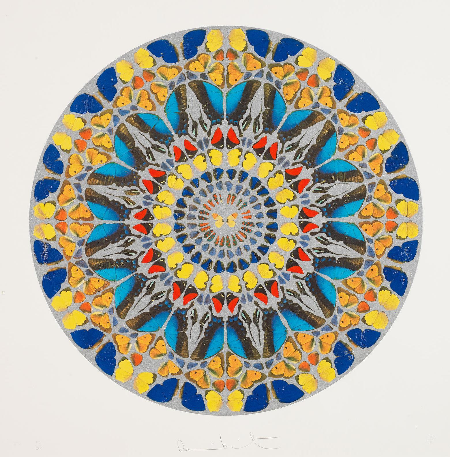 Damien Hirst-Psalm Print: Confitebor Tibi-2009
