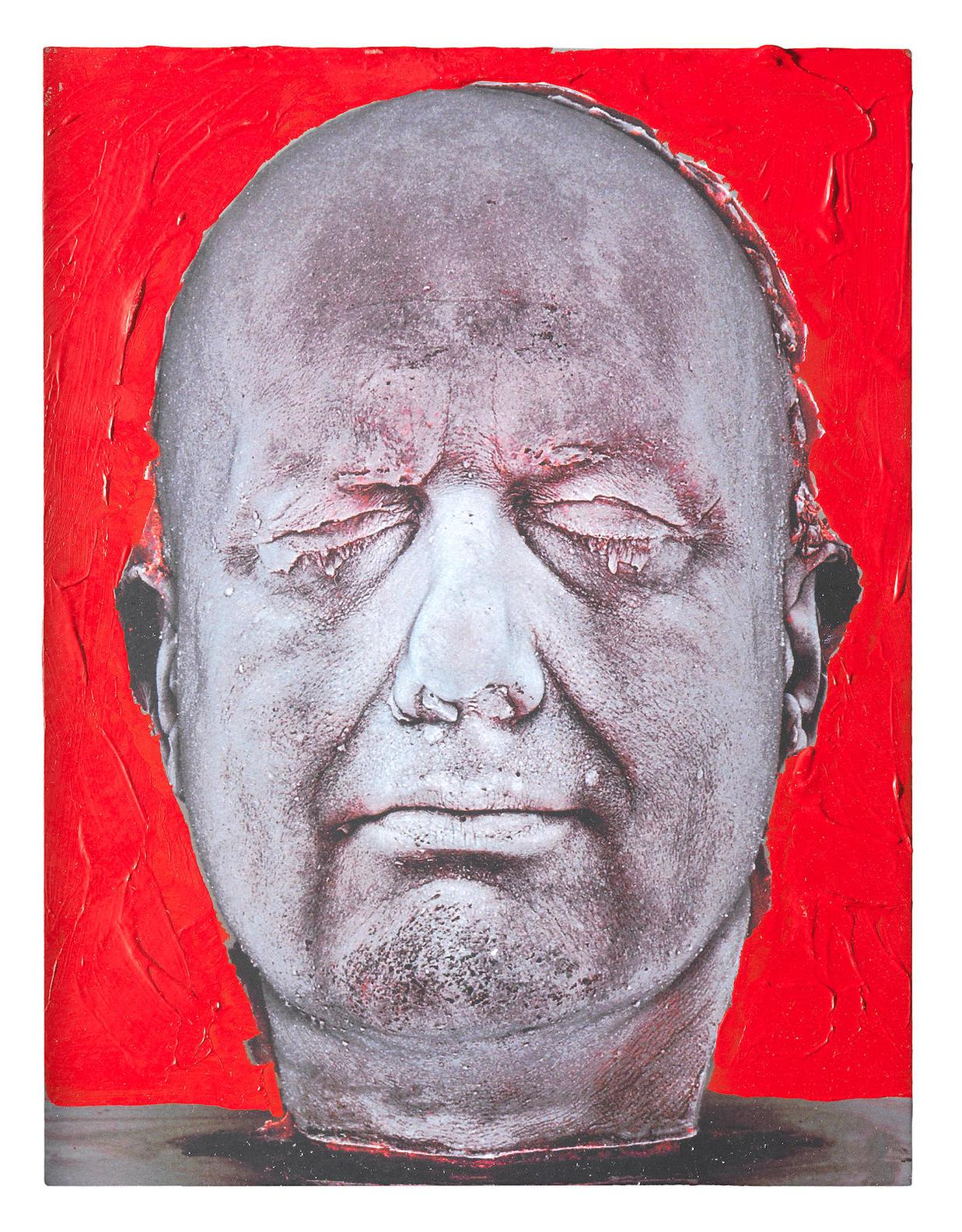 Marc Quinn-Self (Red)-2006