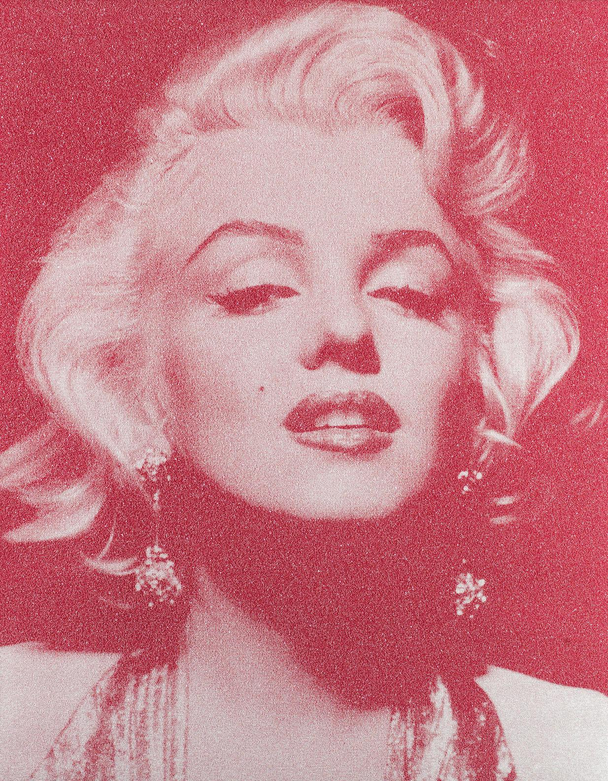 Russell Young-Marilyn Monroe Portrait - Reach Out And Touch Faith-2009