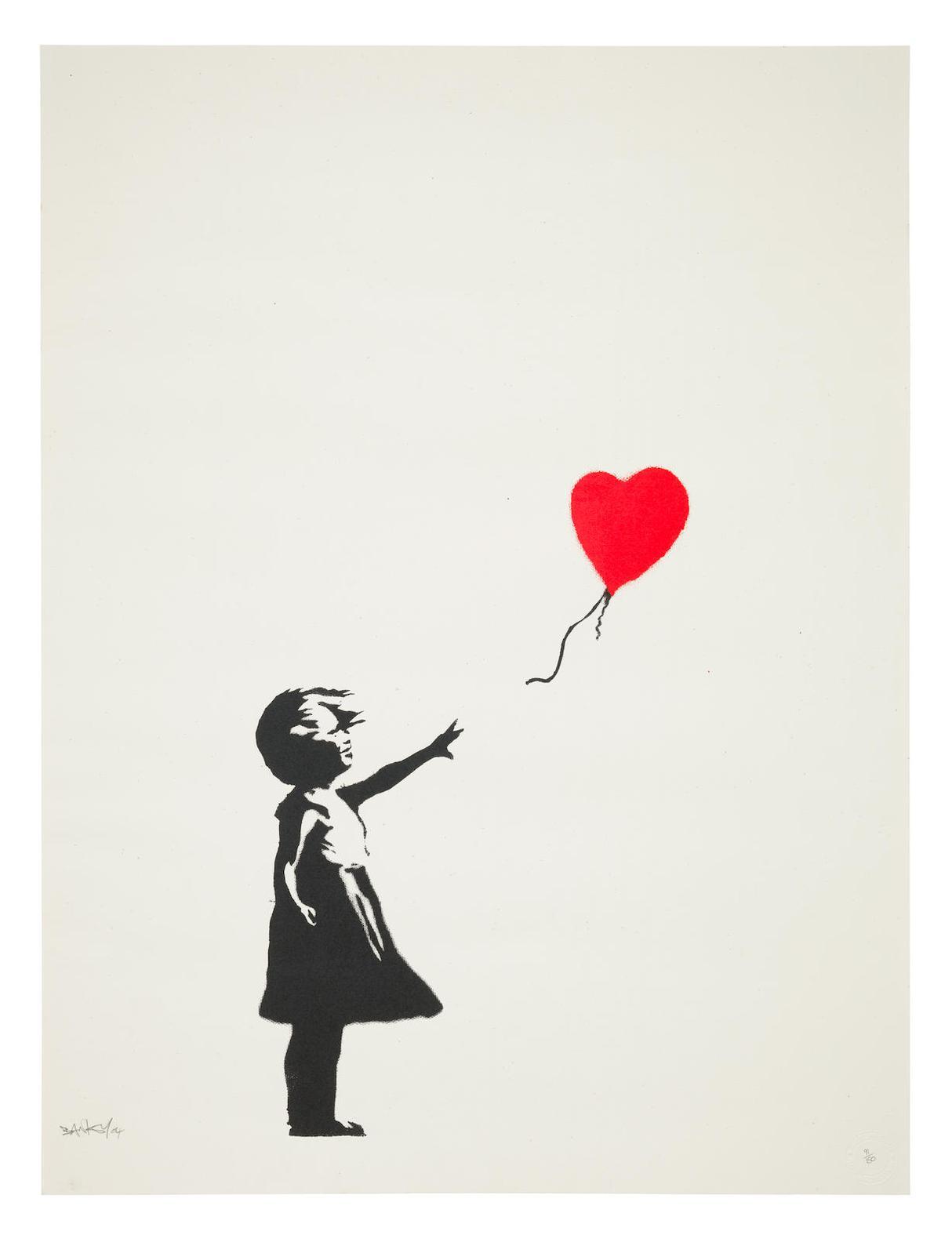 Banksy-Balloon Girl-2004