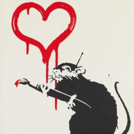 Banksy-Love Rat-2005