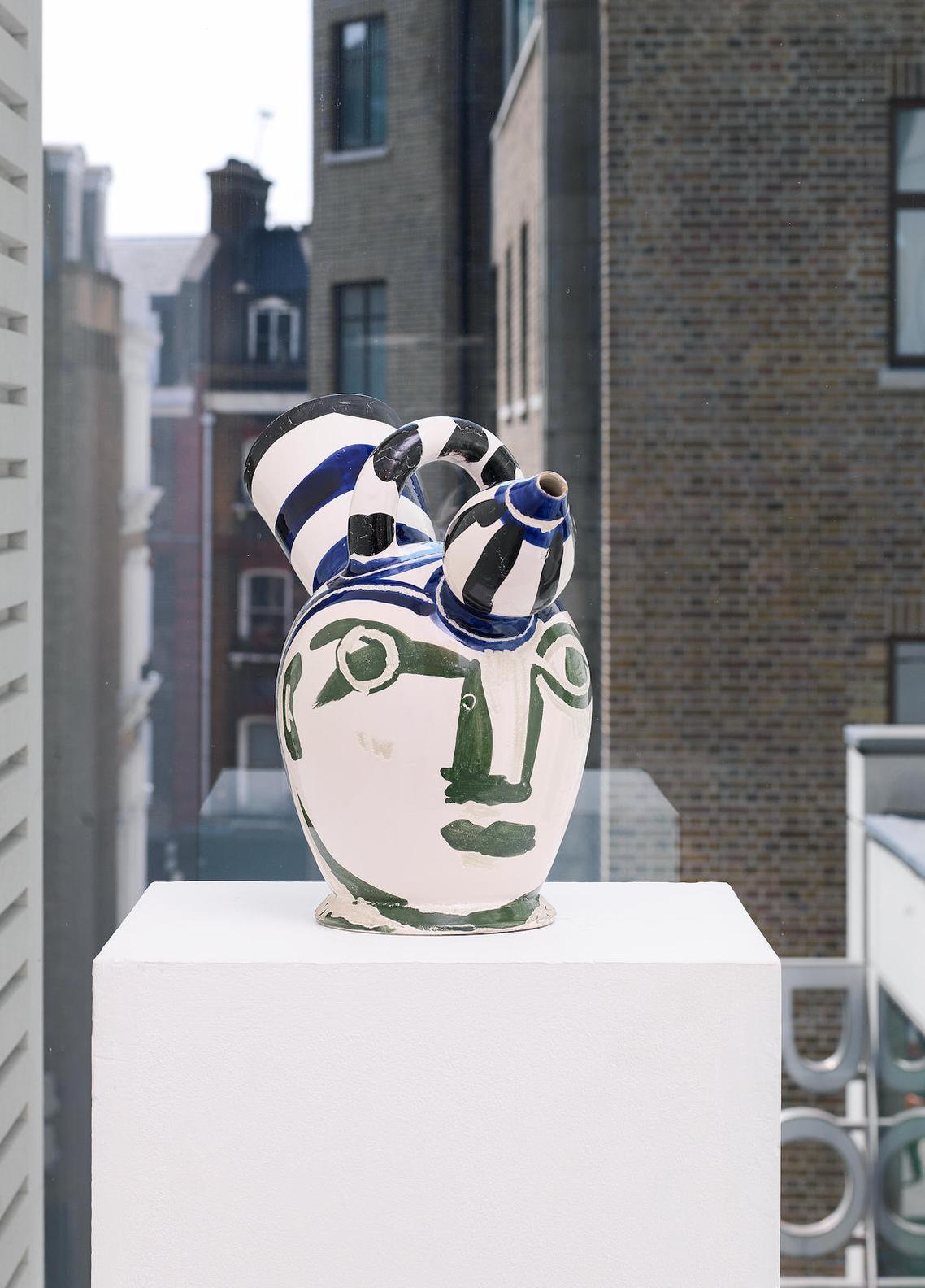 Pablo Picasso-Pichet A Glace(Ramie 143)-