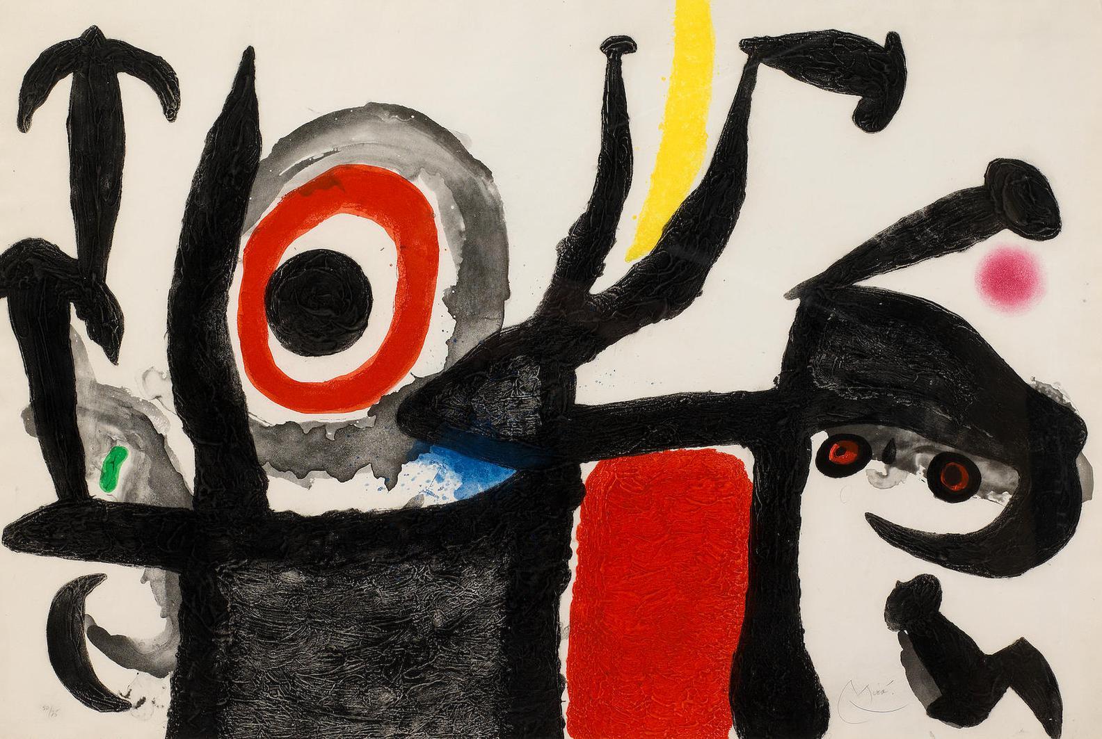 Joan Miro-Manoletina (Dupin 209)-1969