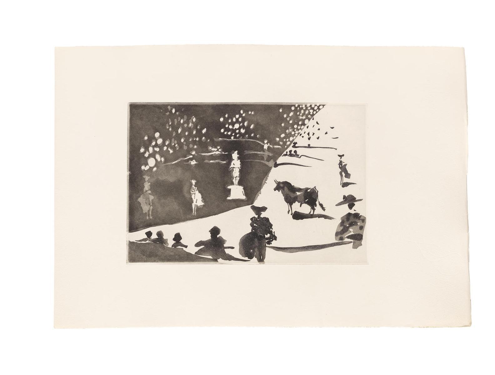Pablo Picasso-Jose Delgado, La Tauromaquia, Ediciones De La Cometa, Barcelona, 1959(Cramer Books 100; Bloch 950-976; Baer 970-996)-1959