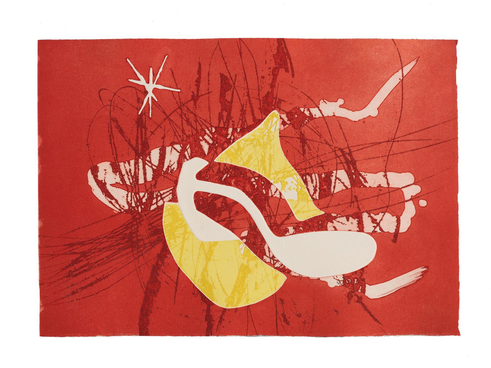Joan Miro-Francesc Dassis, Cantic Del Sol, Editorial Gustavo Gili, Barcelona, 1975 (Cramer Books 196; Dupin 833-867)-1975