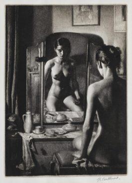 Gerald Leslie Brockhurst R.P. R.E. - Adolescence (Kathleen Nancy Woodward) (Fletcher 75)-1932