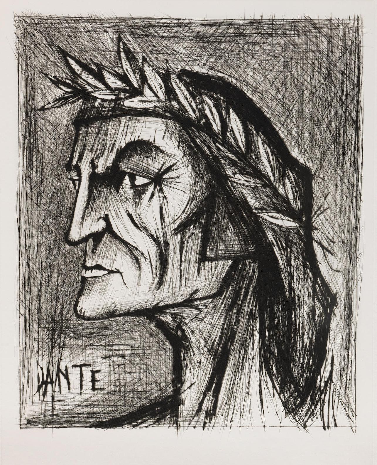 Bernard Buffet-Lenfer De Dante, Galerie Maurice Garnier, Paris, 1976 (Rheims 357-367)-1976