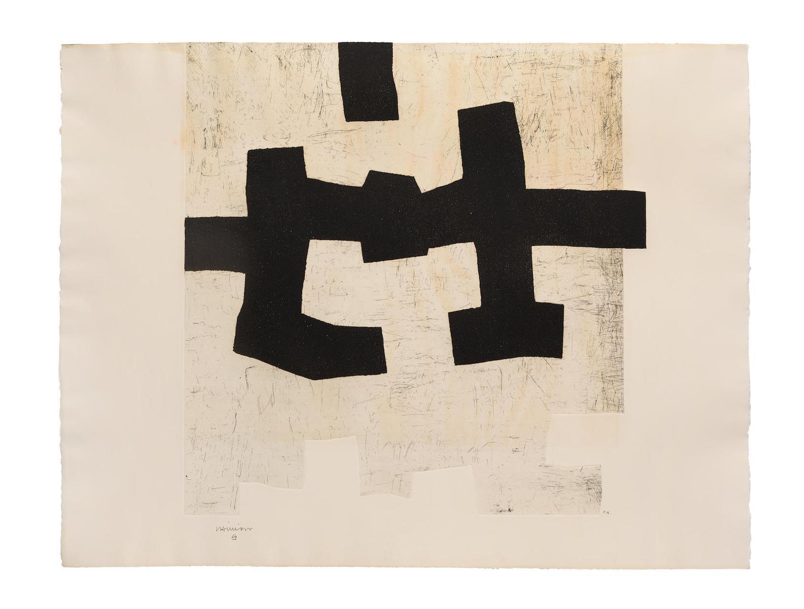 Eduardo Chillida-Aldikatu I (Koelen 72009)-1972