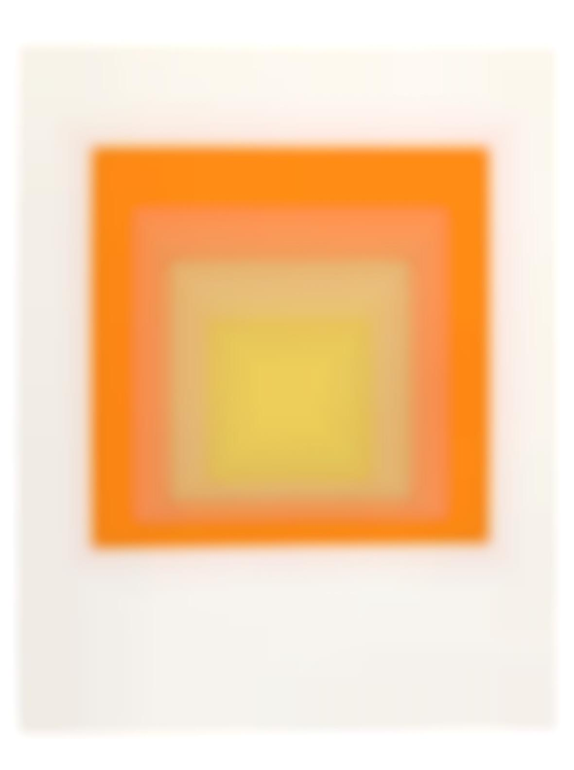 Josef Albers-Homage To The Square-1964