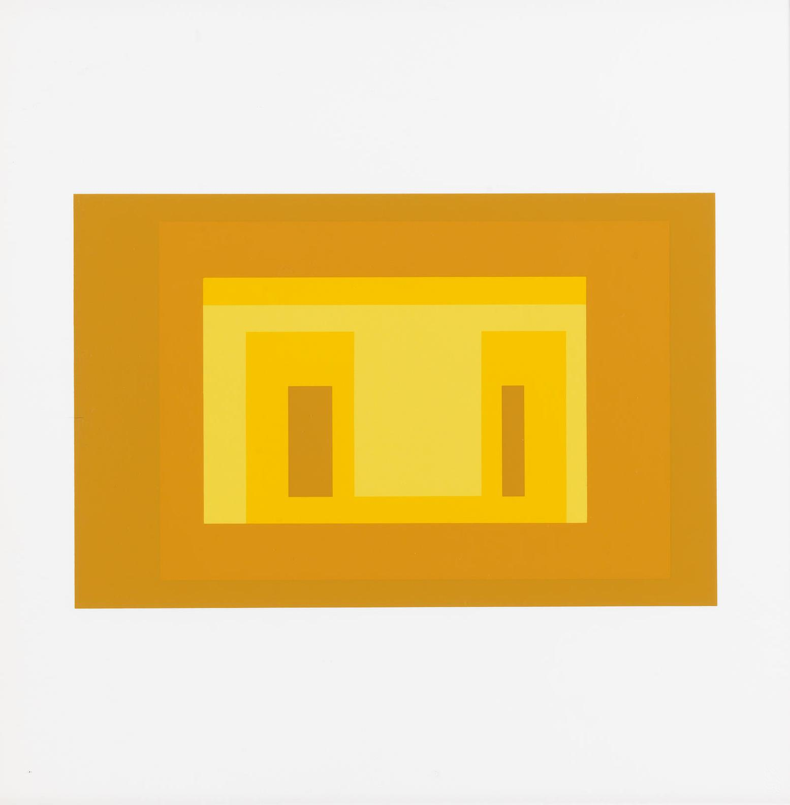 Josef Albers-Ten Variants (Danilowitz 173)-1967