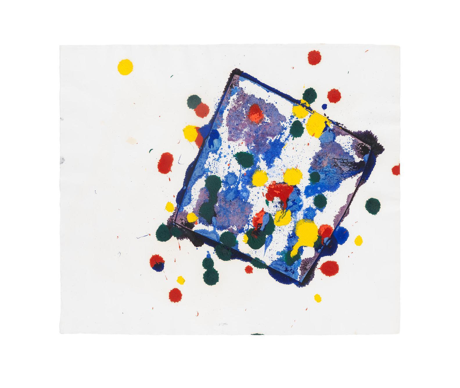 Sam Francis-Untitled (Sfm 77-008)-1977