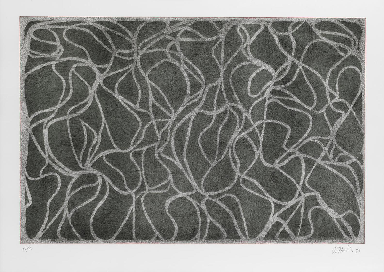 Brice Marden-L.A. Muses, From The Moca Portfolio-1999