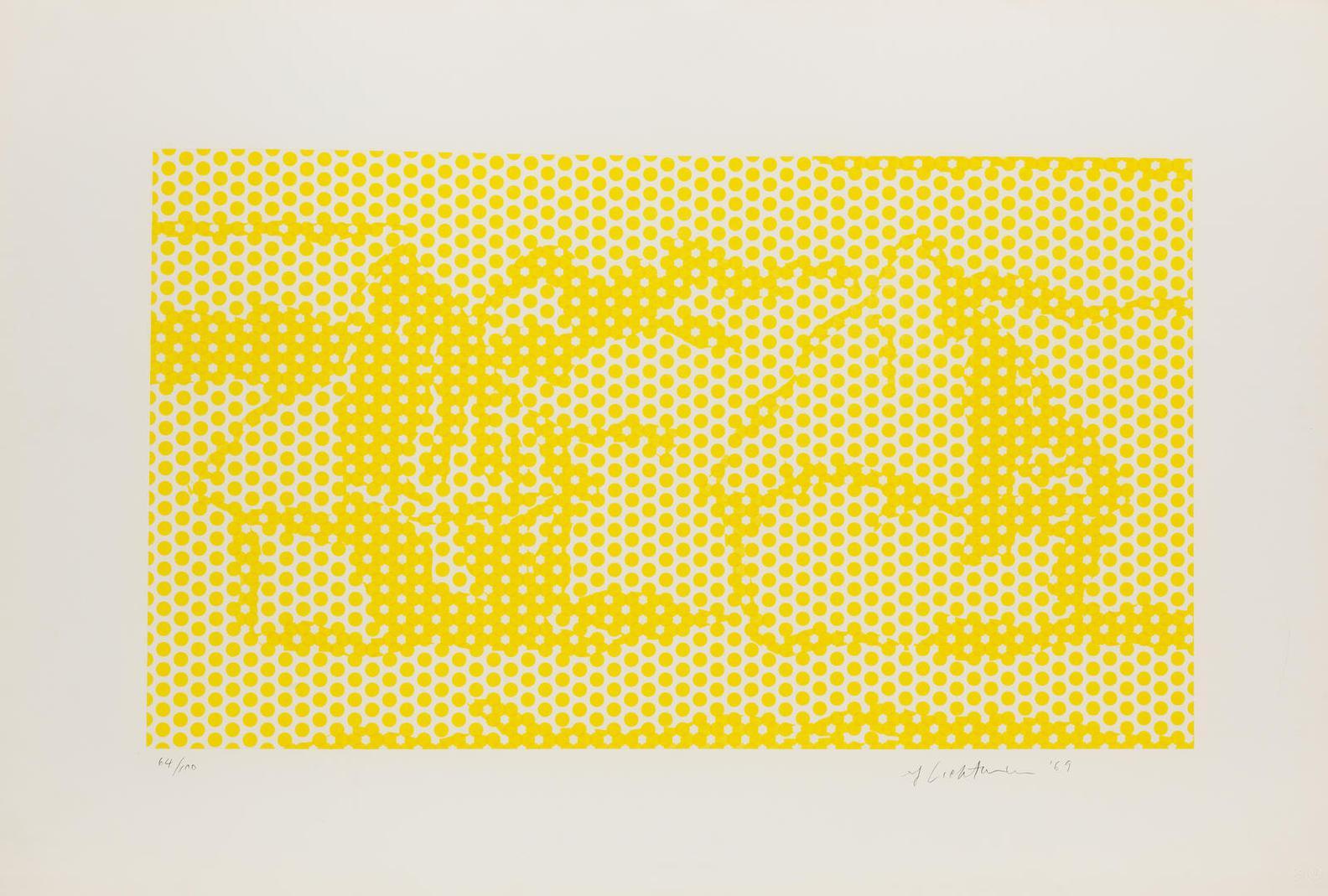 Roy Lichtenstein-Haystack 1 (Corlett 65)-1969