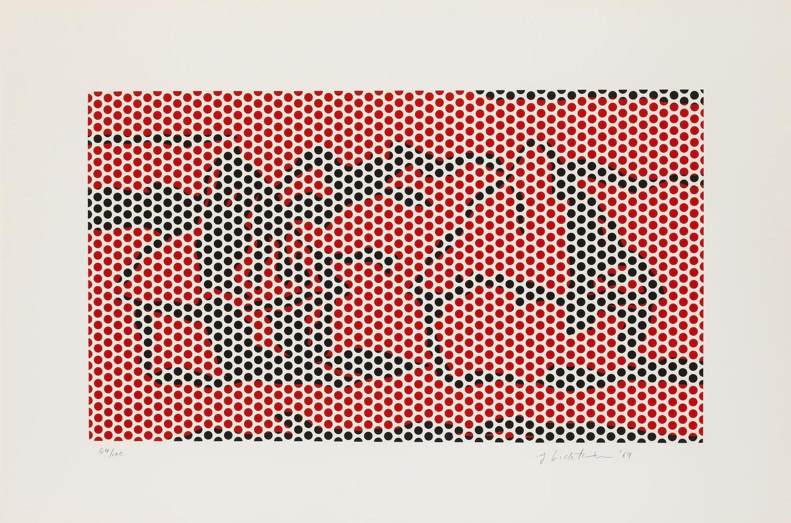 Roy Lichtenstein-Haystack 2 (Corlett 66)-1969
