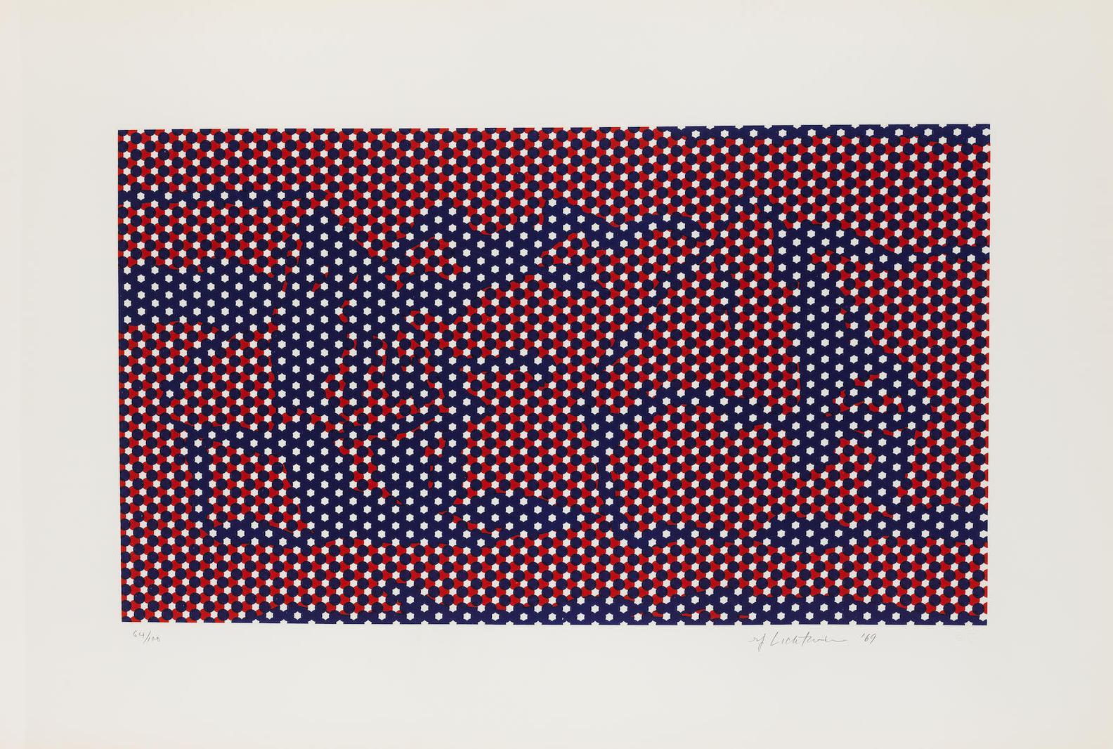 Roy Lichtenstein-Haystack 4 (Corlett 68)-1969