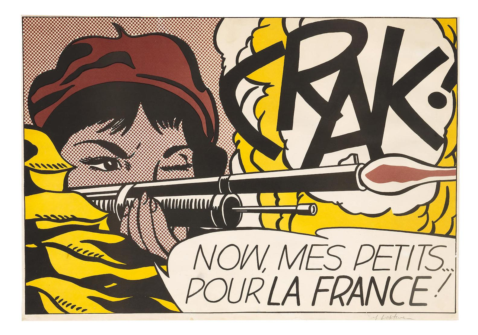 Roy Lichtenstein-Crak! (Corlett II.2)-1964