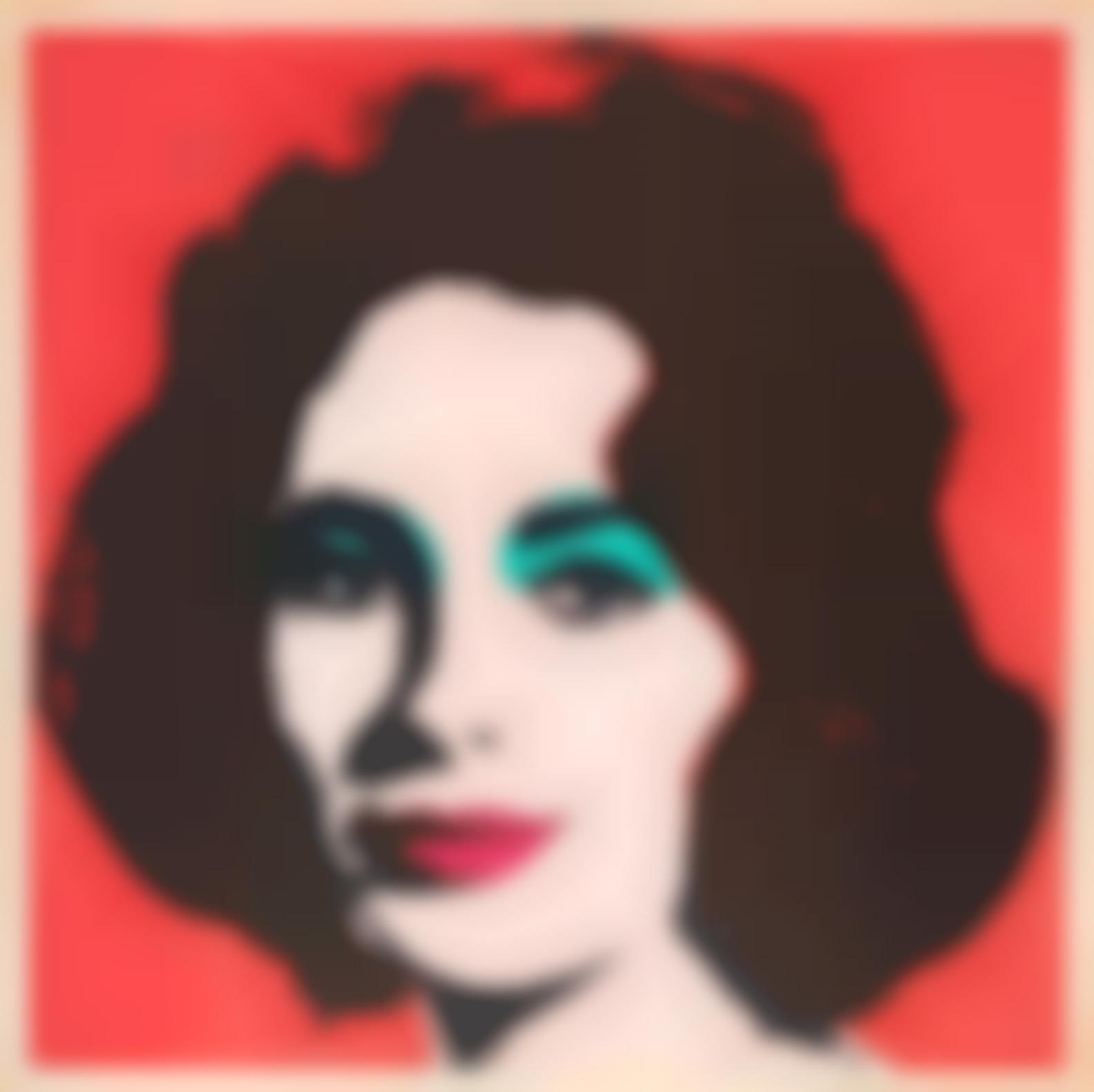 Andy Warhol-Liz (Feldman & Schellmann II.7)-1964