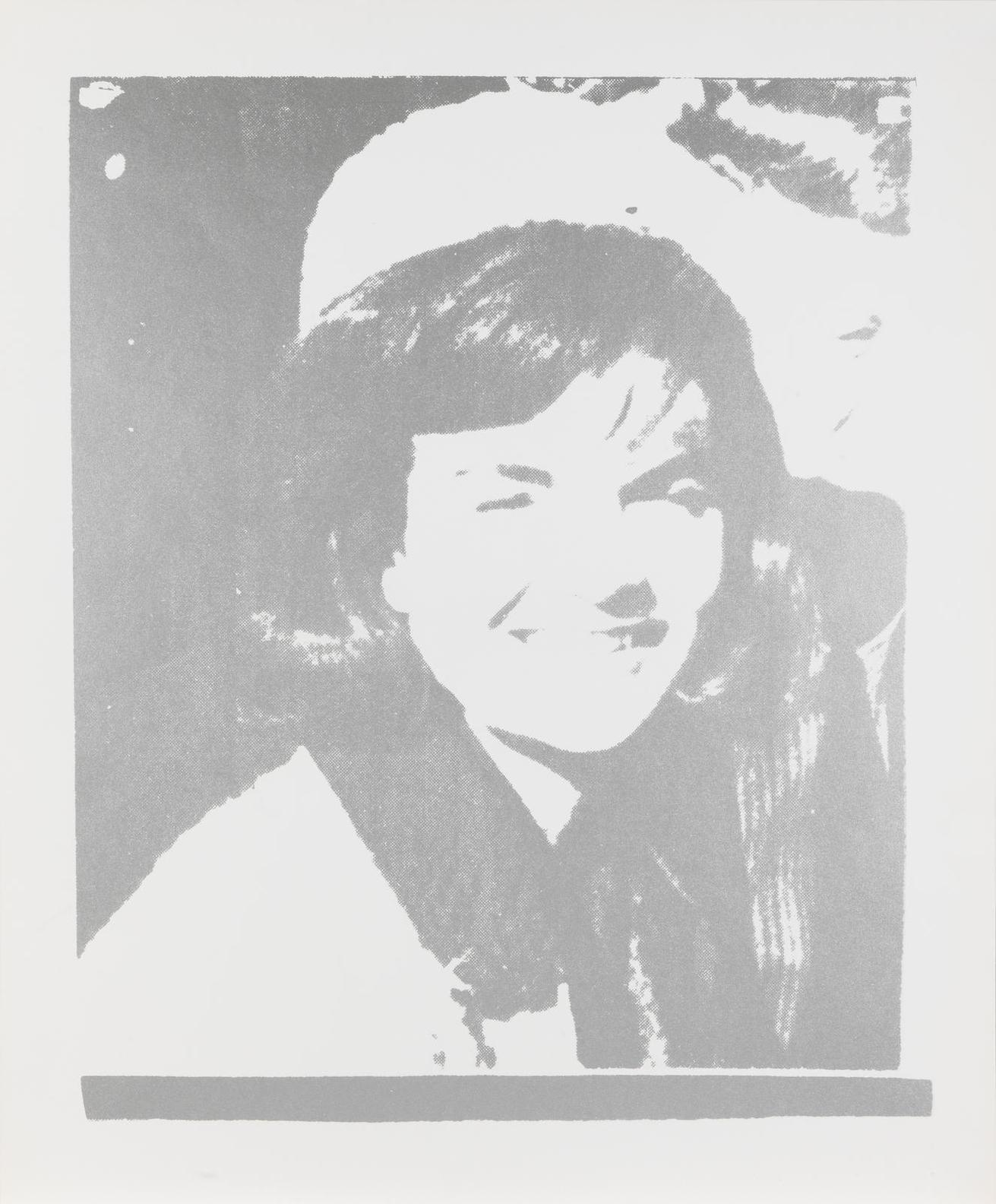 Andy Warhol-Jacqueline Kennedy I, From 11 Pop Artists I (Feldman & Schellmann 13)-1966