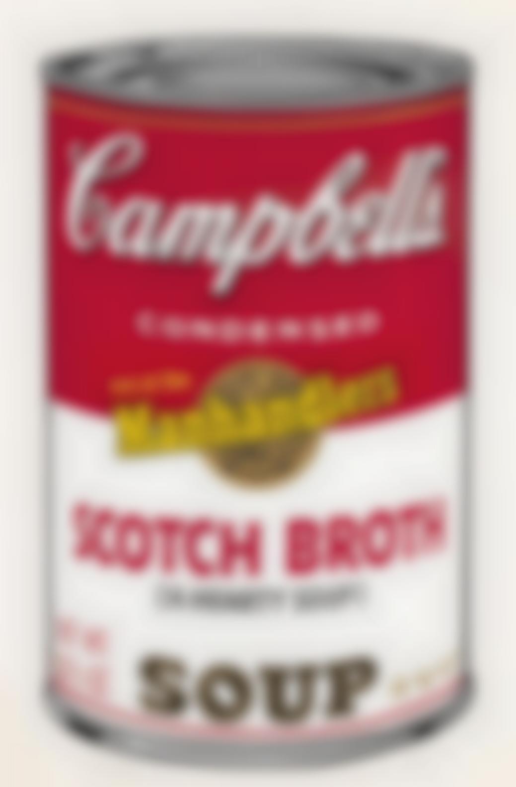Andy Warhol-Scotch Broth, From Campbells Soup II (Feldman & Schellmann II.55)-1969