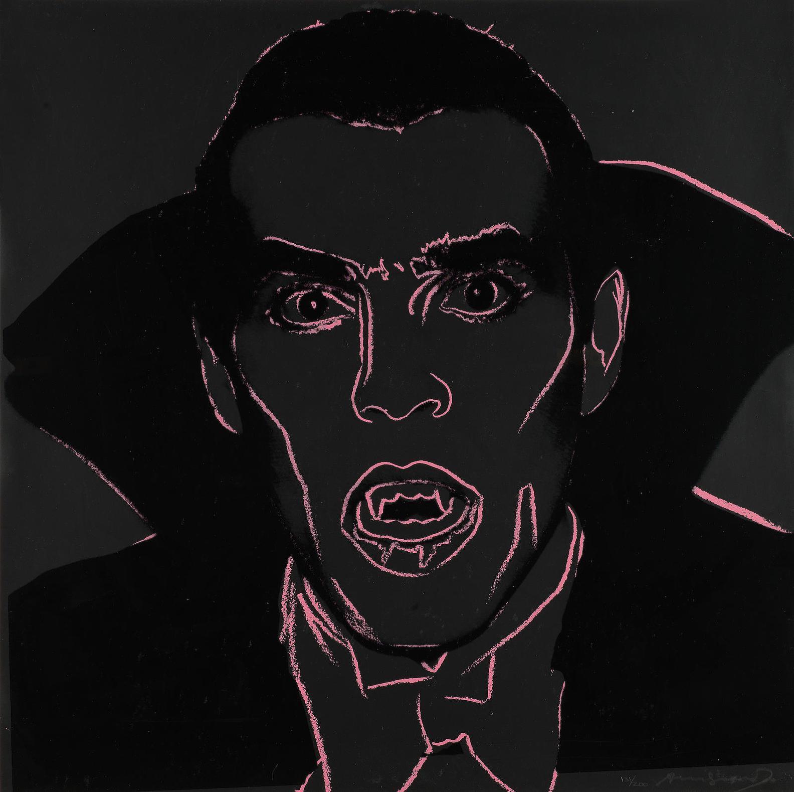 Andy Warhol-Myths: Dracula (Feldman & Schellmann II.264)-1981