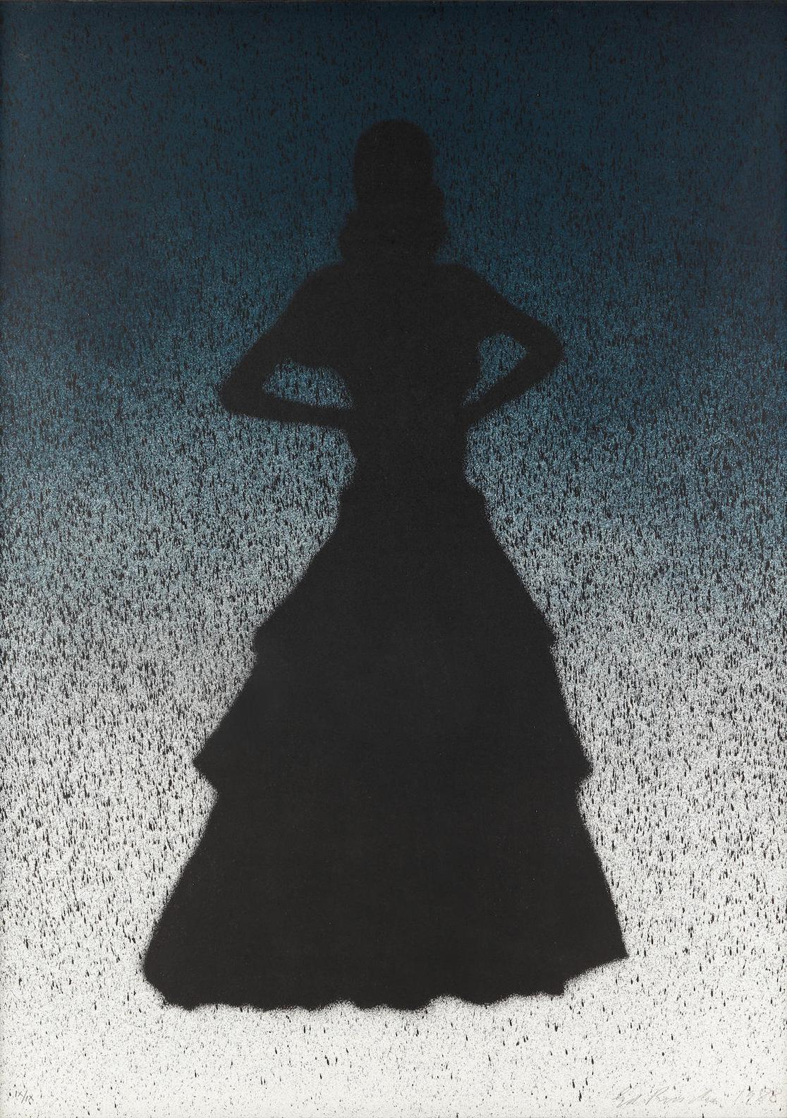 Ed Ruscha-Ballerina, From Barcelona Suite-1988
