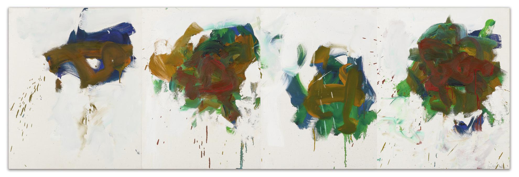 Joan Mitchell-A Tribord-1990