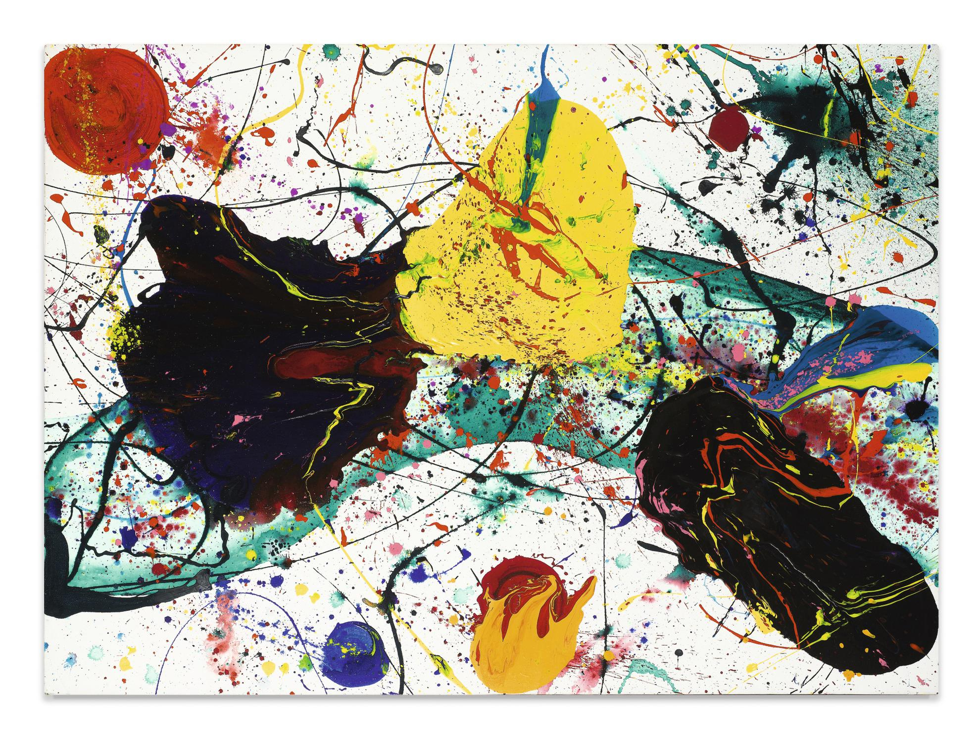Sam Francis-Untitled (Sff.1501)-1988