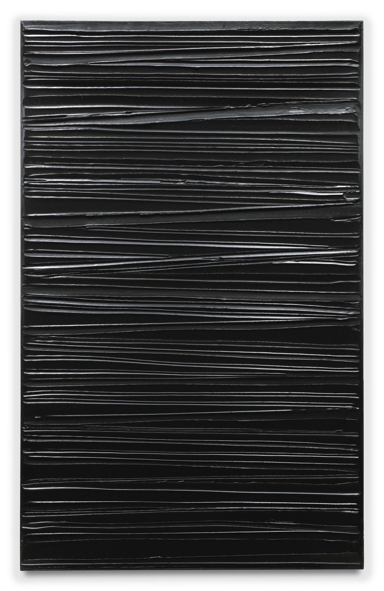 Pierre Soulages-Peinture 130 X 81 Cm, 20 Mars 2004-2004