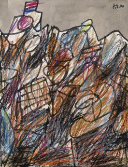 Jean Dubuffet-Paysage Avec Maison-1974