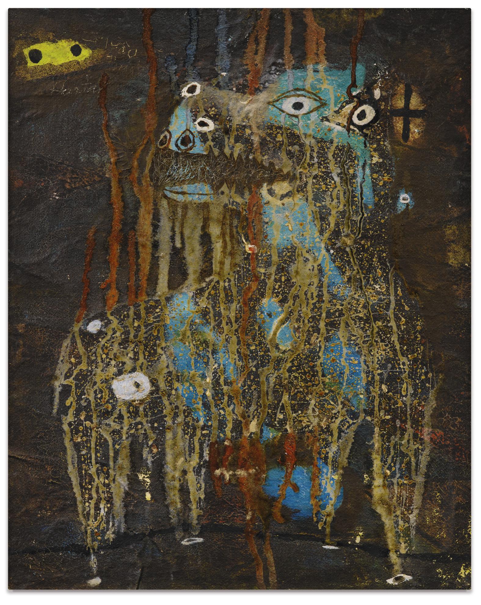 Simon Hantai-Animal Fabuleux Et Le Palmibougre-1950
