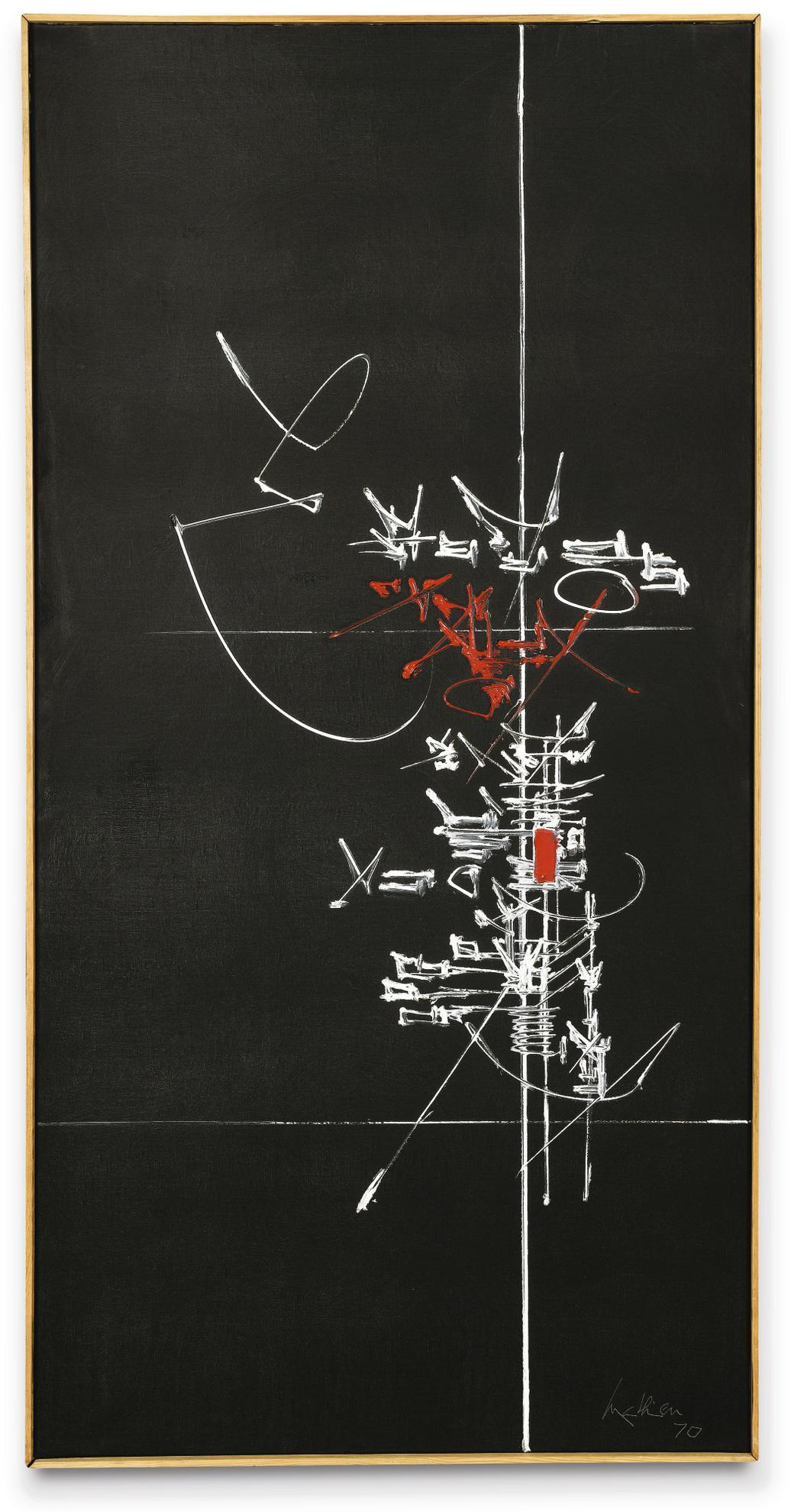 Georges Mathieu-Elbene-1970
