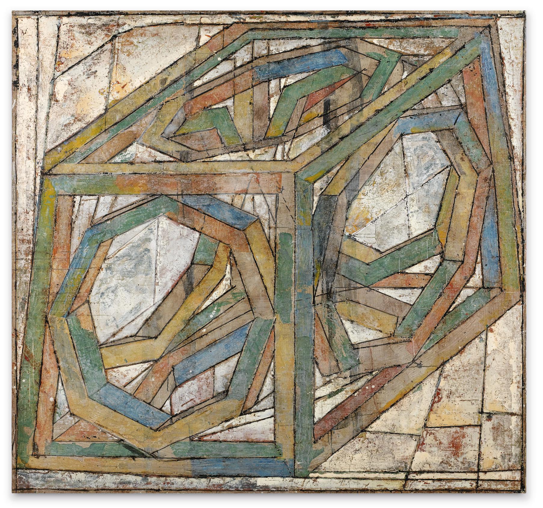 Jean-Pierre Pincemin-Untitled-2004