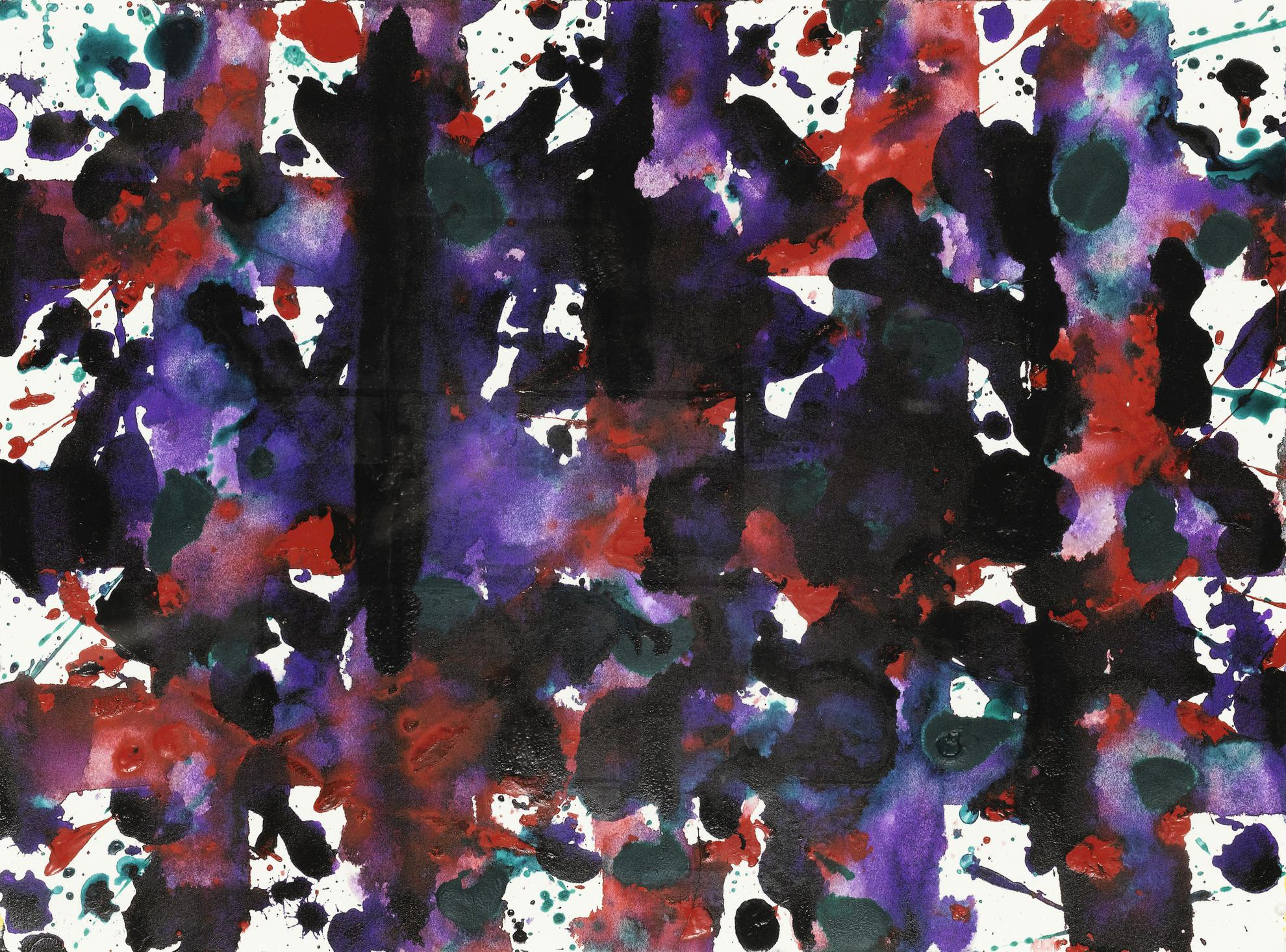 Sam Francis-Untitled (Sf80-295A)-1980