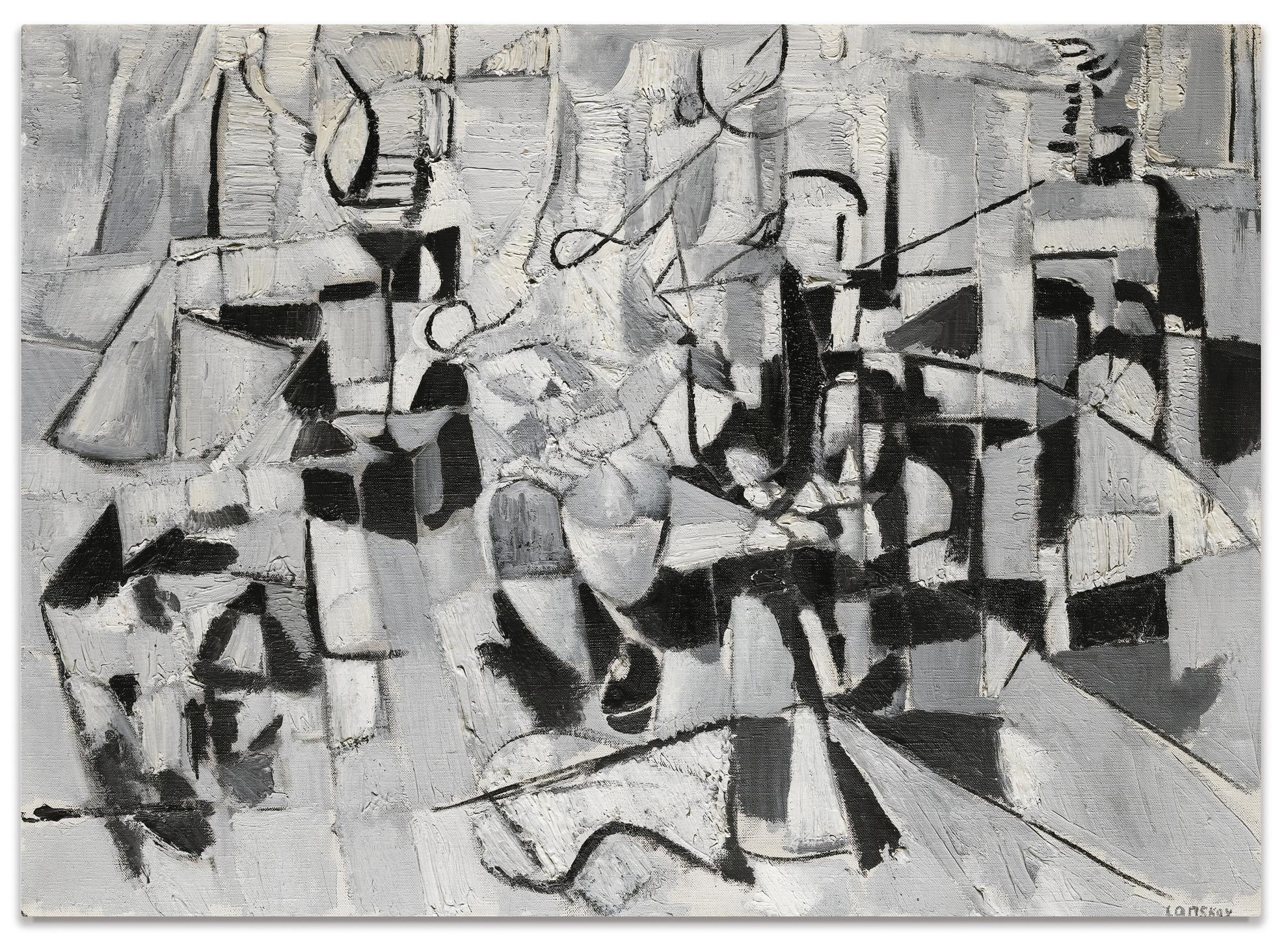 Andre Lanskoy-Habitation Imaginaire-1956
