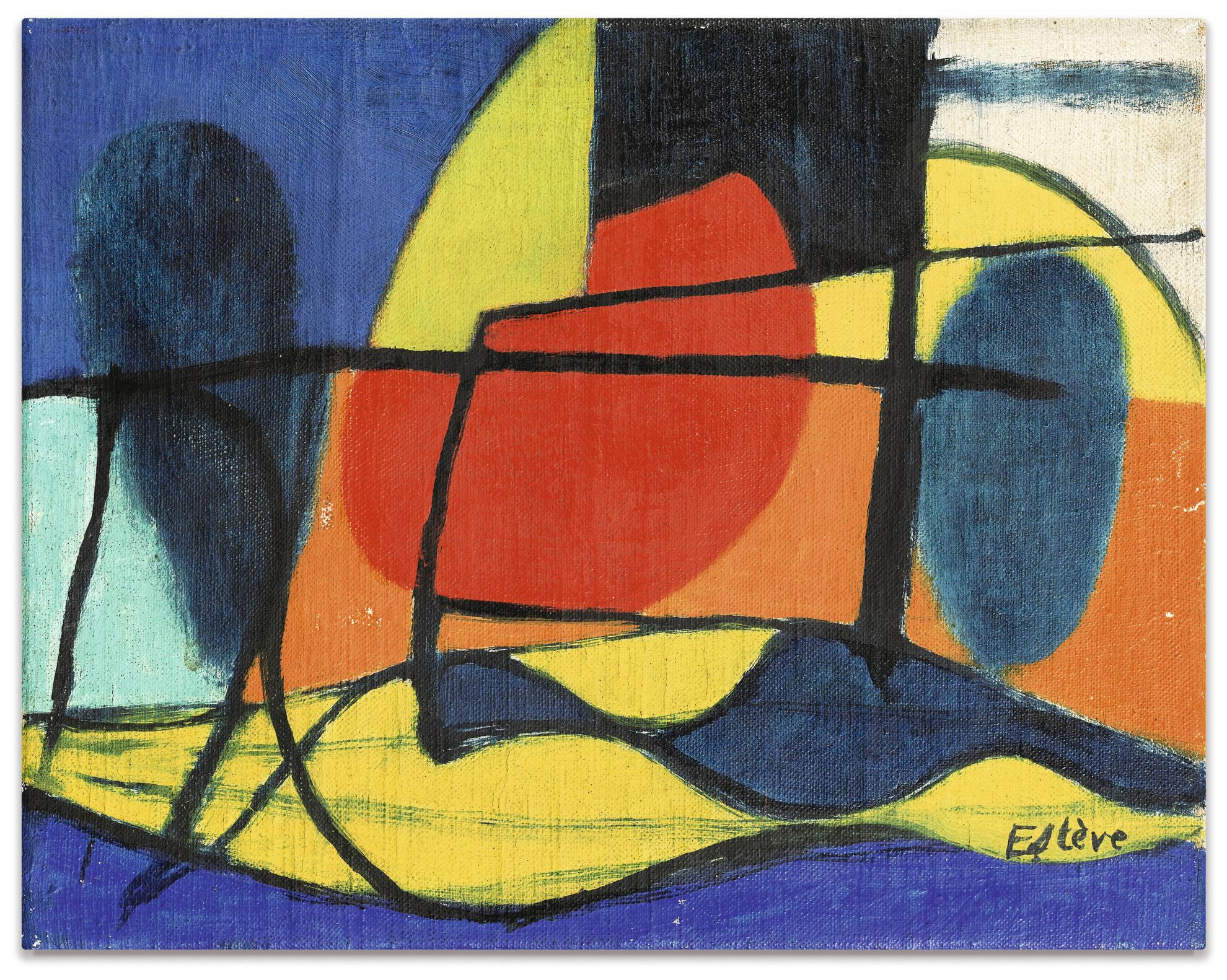 Maurice Esteve-Leclipse-1950