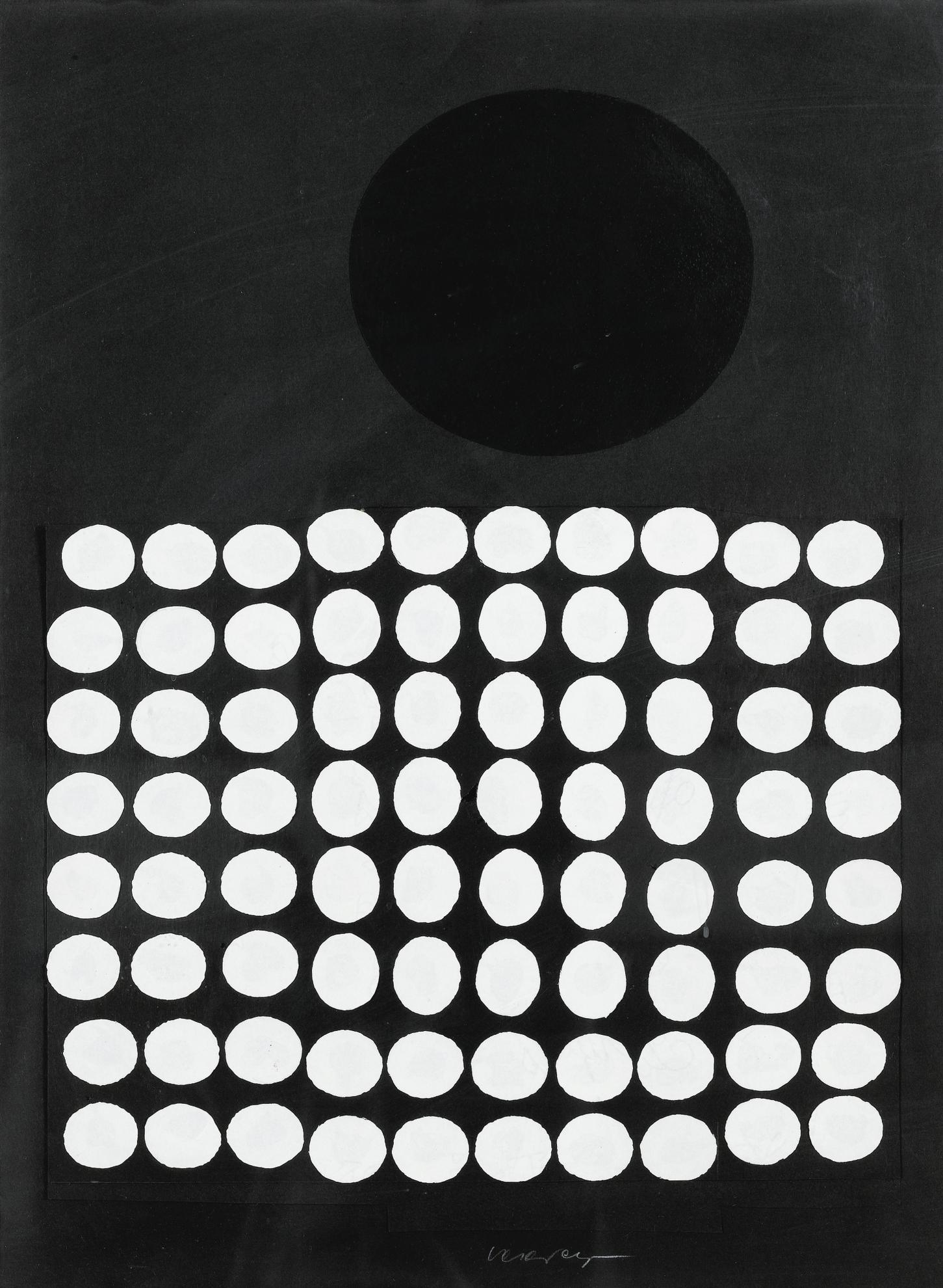 Victor Vasarely-Untitled-1957