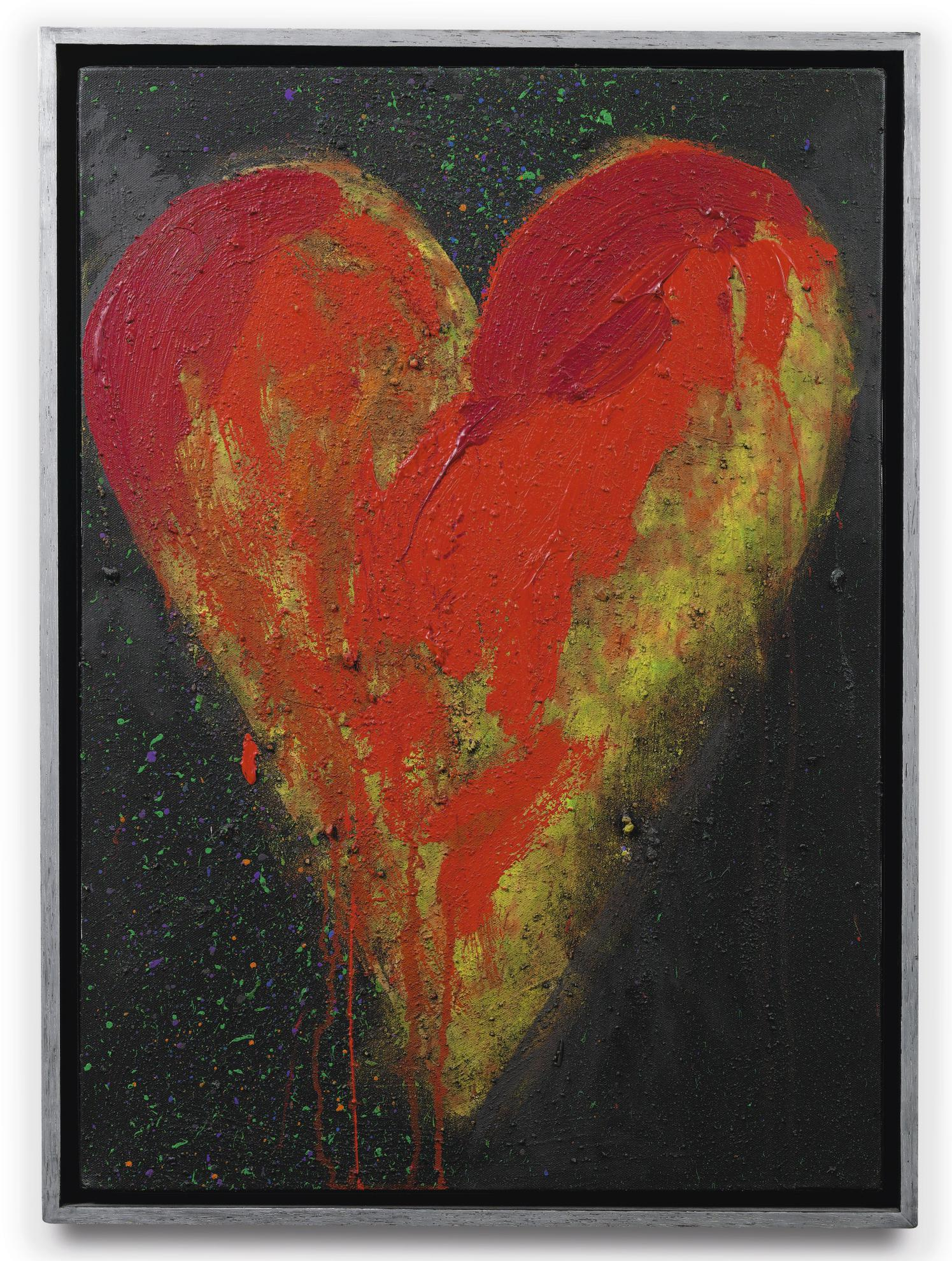 Jim Dine-The Night In Red-2009