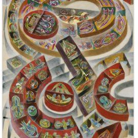 Erro-Cubes Volants-1961