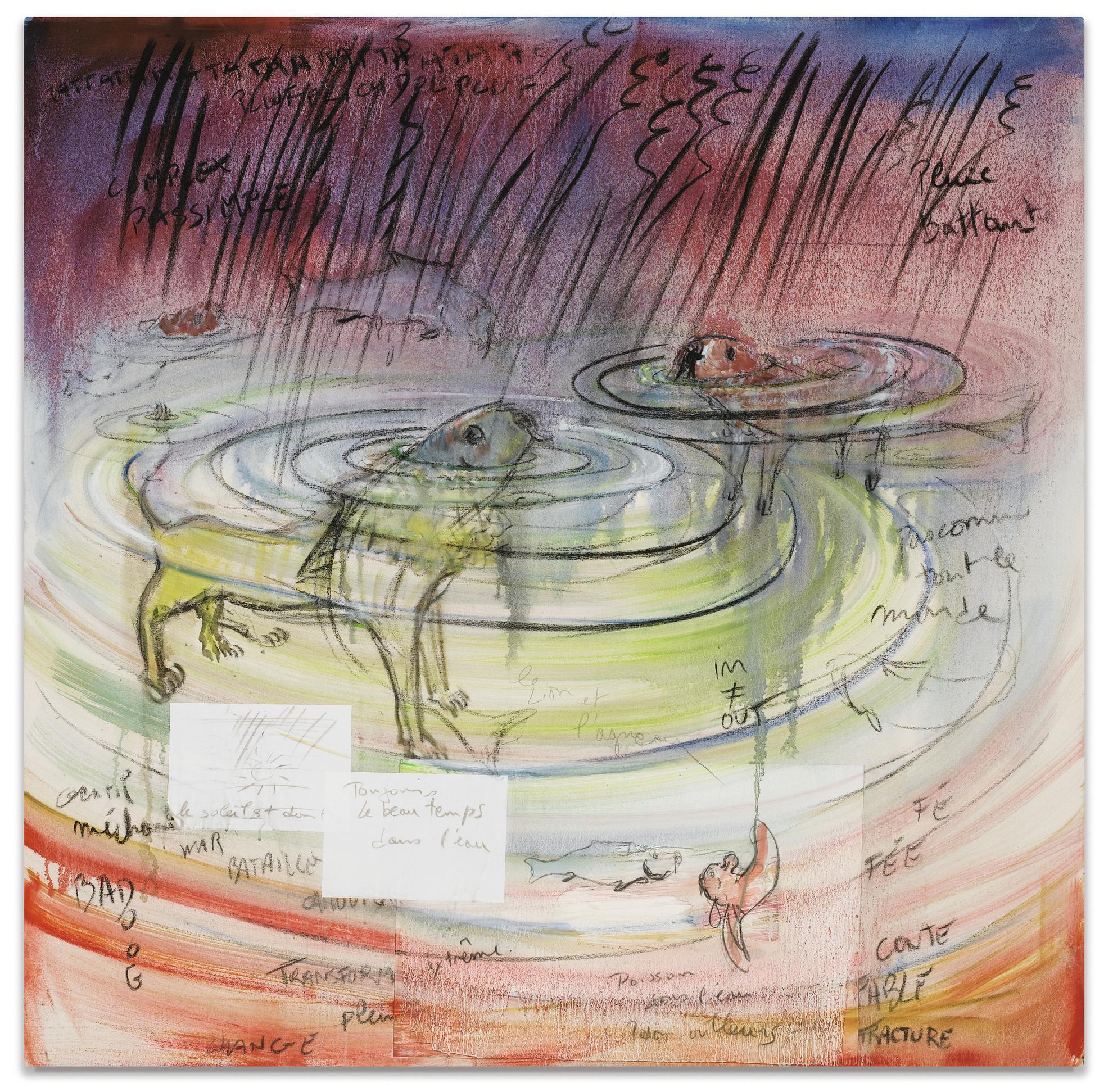 Fabrice Hyber-Le Lion Et Lagneau-2003