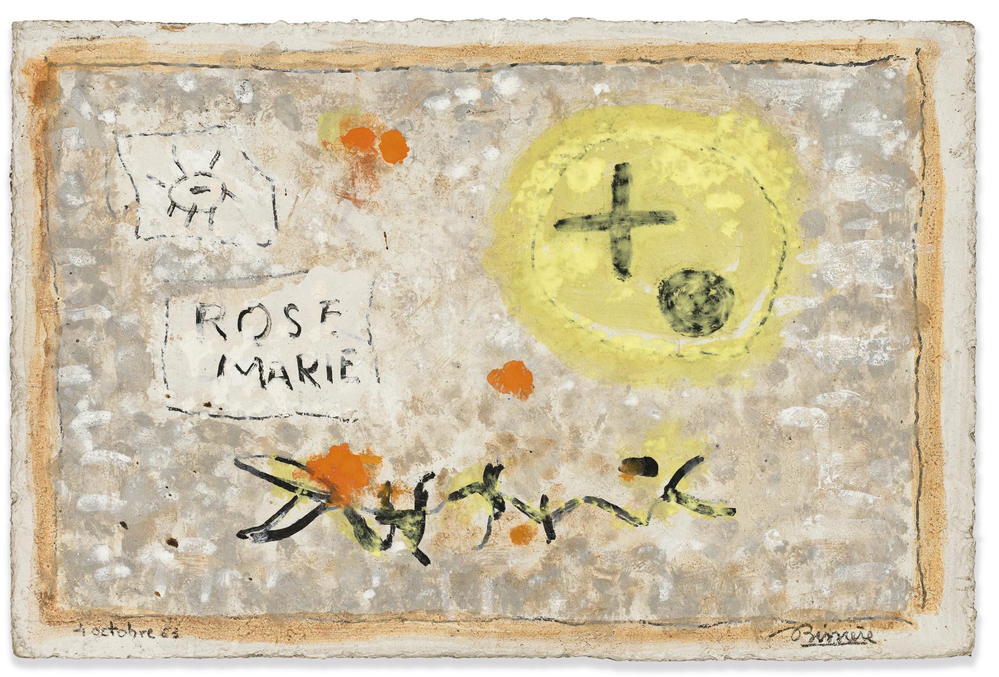 Roger Bissiere-4 Octobre 63, 1963-1963