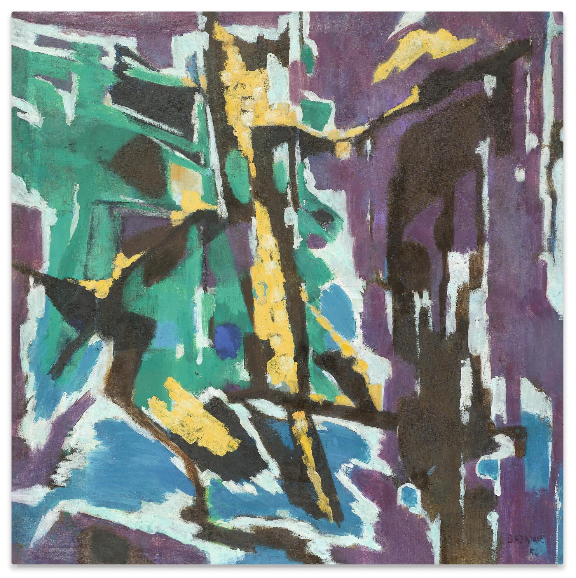 Jean Bazaine-La Fin De Lhiver-1954